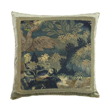 Antique Tapestry Fragment (#T092315 | 21 x 21