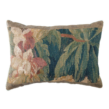Antique Verdure Tapestry Fragment (#T042520A | 12 1/2 x 17 1/4