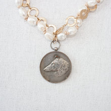 Baroque Pearl Necklace with vintage