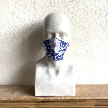 Block Print Reversible Face Mask