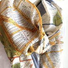 New York Subway Map Scarf