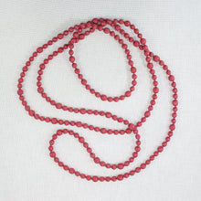 Sari Beaded Necklace (Single Strand)