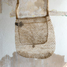 Sokdi Natural Small Crossbody Net Market Bag