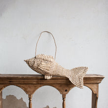 Straw Fish Bag