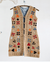 Vintage Embroidered Vest Vest Rebecca Vizard