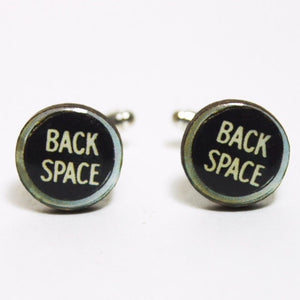 Back Space Typewriter Keys Cufflinks