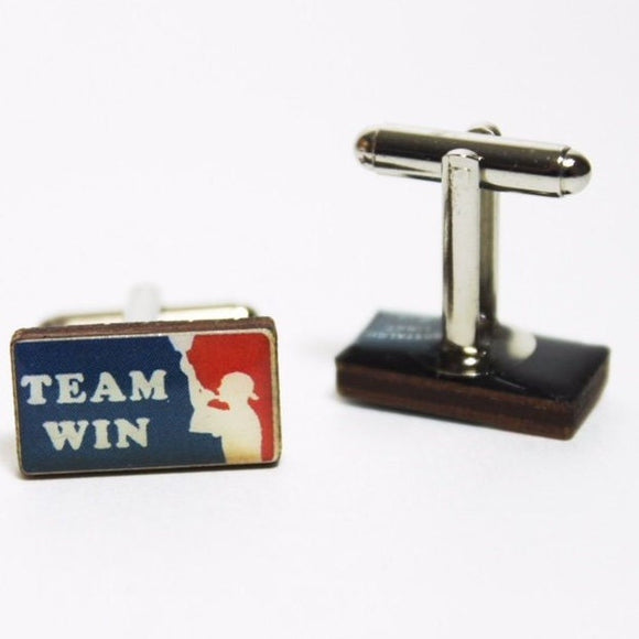 Team Win Bong Cufflinks