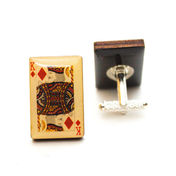 King of Diamonds Cufflinks