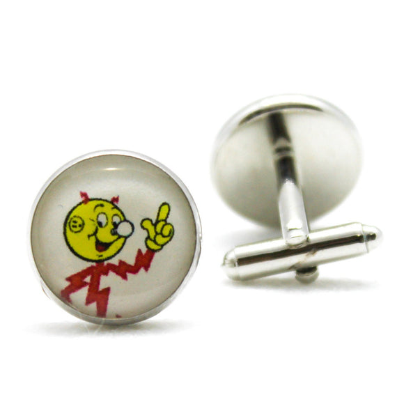 Reddy Kilowatt Cufflinks