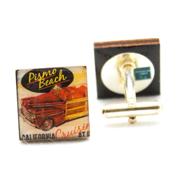 Pismo Beach California Cufflinks
