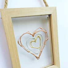 Load image into Gallery viewer, Personalised Family Floating Hearts. www.withcerys.co.uk