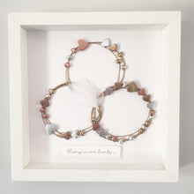 Load image into Gallery viewer, Family Circle / Heart Wall Art Gift. www.withcerys.co.uk
