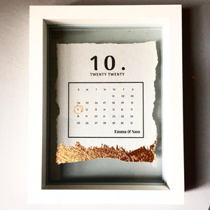 Wedding Day Calendar (Freestanding)