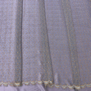 Purple métallique French lace-5m