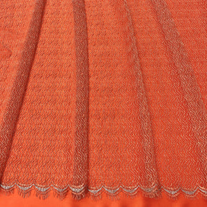 Orange métallique French lace - 5m