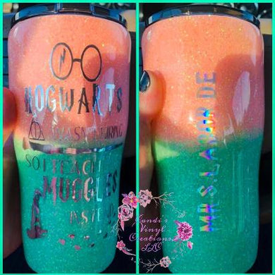 Harry Potter Inspired Teach Tumbler - Candi's Vinyl Creations