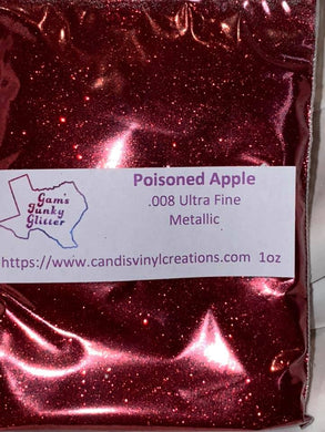 Poisoned Apple UF Glitter - Candi's Vinyl Creations