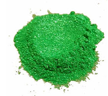 Load image into Gallery viewer, True Green Synthetic Mica Powder - Candi's Vinyl Creations