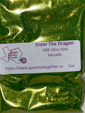 Enter the Dragon UF Glitter - Candi's Vinyl Creations