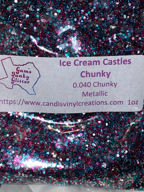 Ice Cream Castles Chunky Mix - Candi's Vinyl Creations