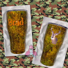 Load image into Gallery viewer, Camo Cup - Candi's Vinyl Creations