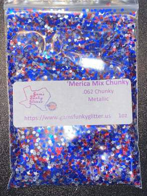 'Merica Mix Fat Chunky - Candi's Vinyl Creations