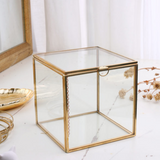 Gold frame jewelry box 184
