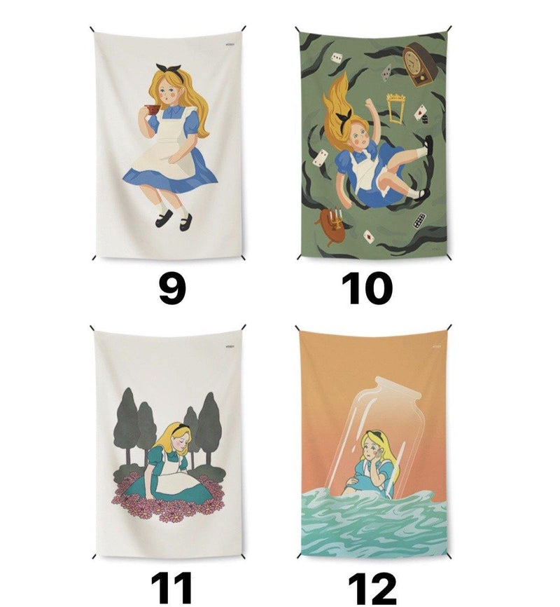 Alice fabric poster 875