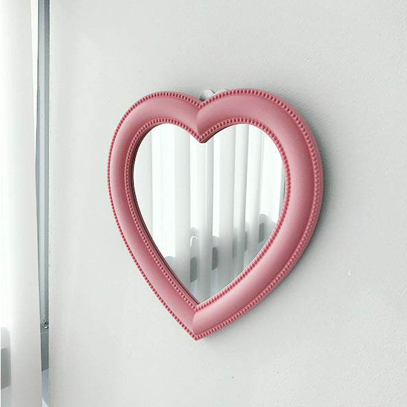 Heart Bubble Mirror C69