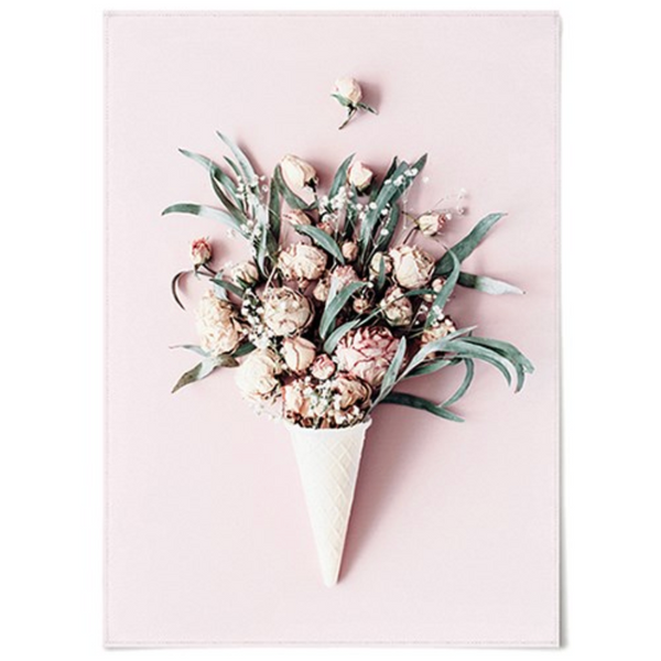 Ice cream flower poster 428