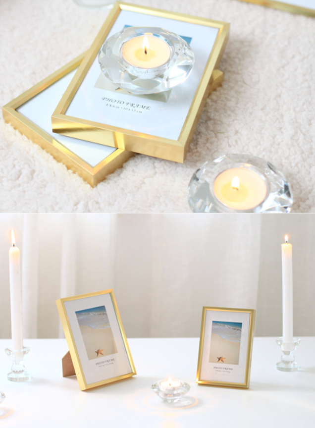 Gold simple frame 447