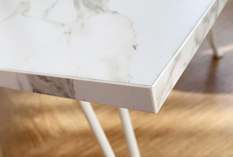 White marble folding table 522