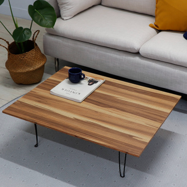 Wood interior folding table 559