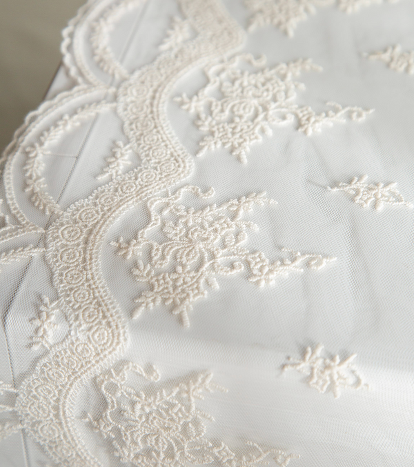 Lace microwave cover 764