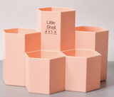hexagonal pencil stand 717