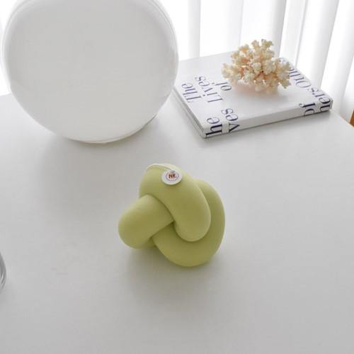 Tube Knot Candle(Lime)852