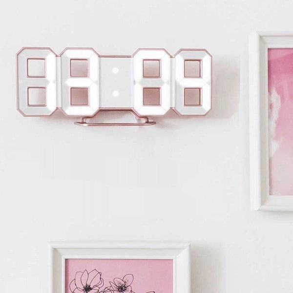 Rose number clock 865