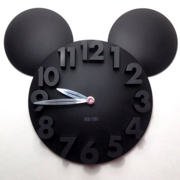 3D mouse wall clock 889