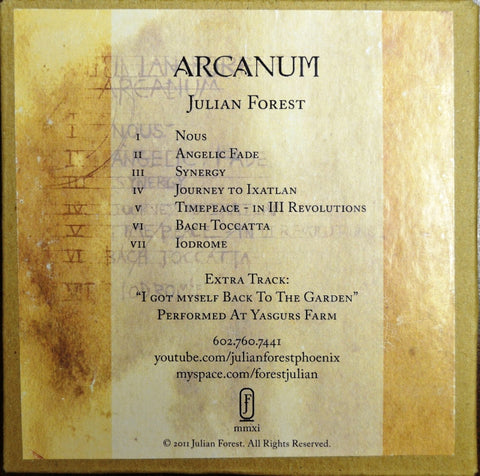 "Julian Forest ""Arcanum"""