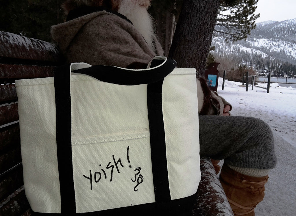 Yoish! Cotton Tote