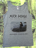 mick dodge beach tank