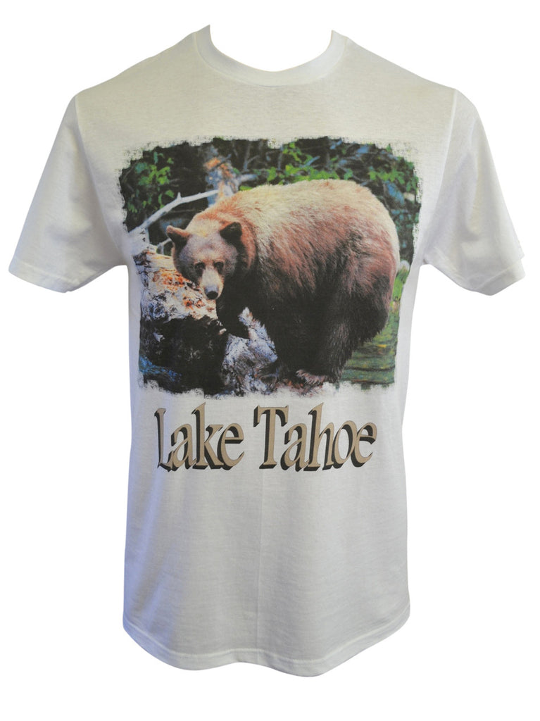 Bear on a Log Tee