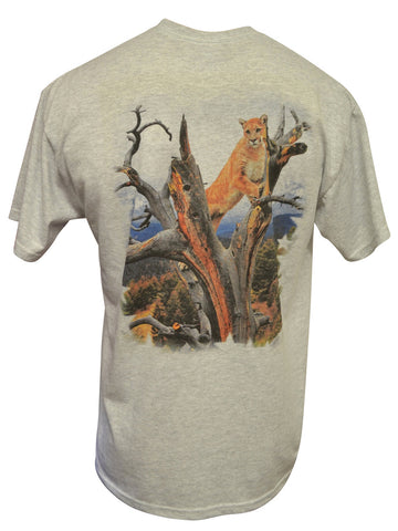 Cat's Eye View Ash T-shirt
