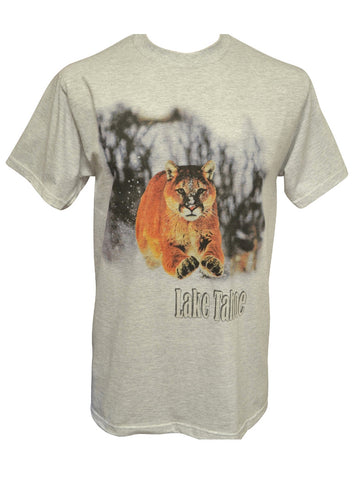 Cougar Attack! Ash T-shirt