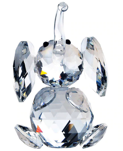 Crystal Elephant Figurine