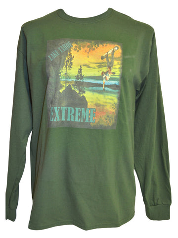 Green Trail Green T-shirt Large