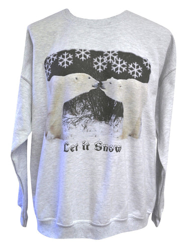 Let It Snow Crew Sweatshirt