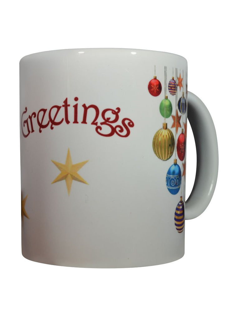 Season's Greeting mug