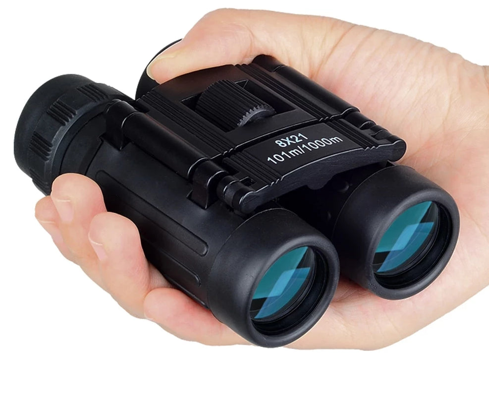 8x21 Folding Pocket Binocular