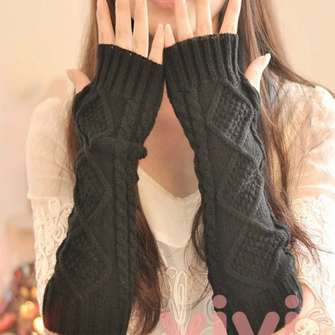 Knitted Sleeve Warmers